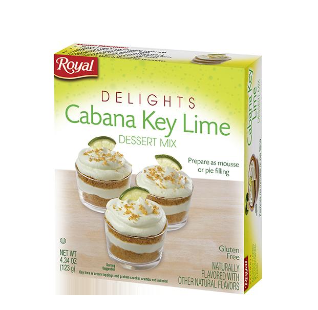 Royal Delights – Cabana Key Lime Dessert Mix 4.34 oz