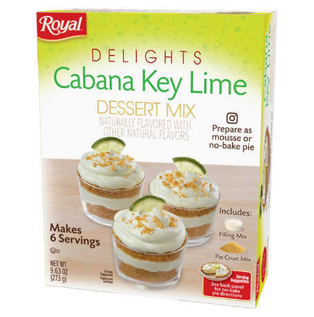 Royal Delights – Cabana Key Lime Dessert Mix 9.63 oz