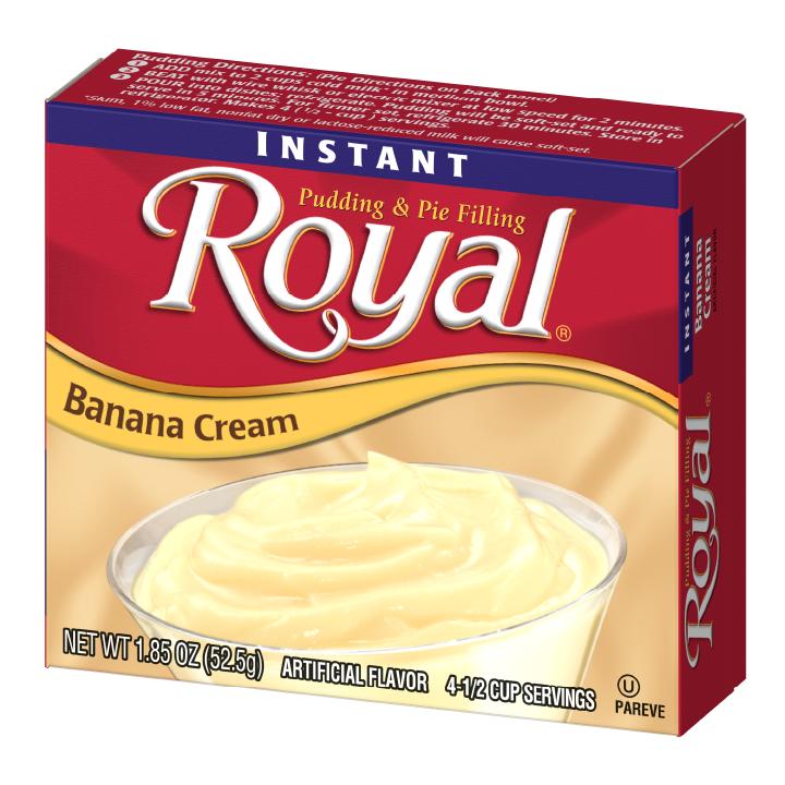 Royal Pudding – Instant Banana Cream 1.85 oz