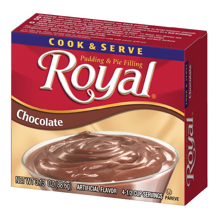 Royal Pudding – Cook & Serve Chocolate 3.125 oz
