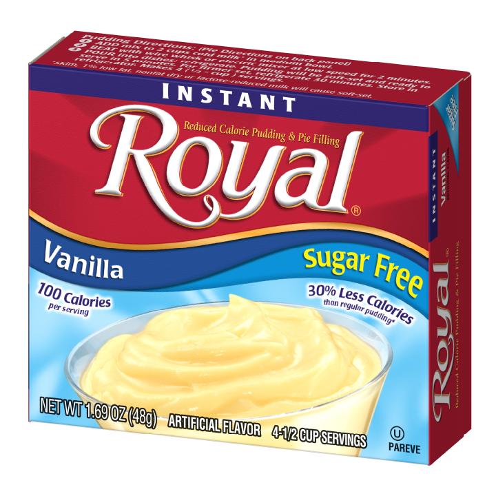 Royal Pudding – Vanilla Sugar Free 1.69 oz