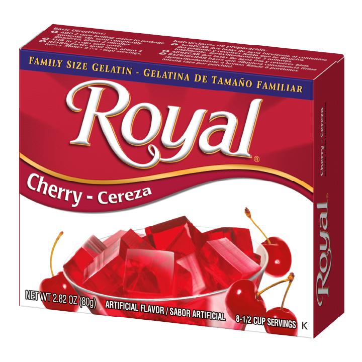 Royal Gelatin – Cherry 2.8 oz