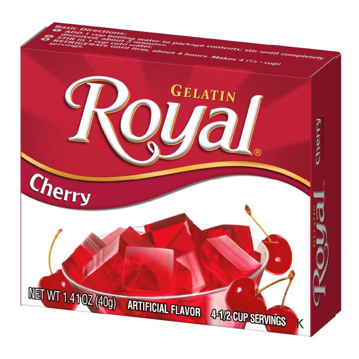 Royal Gelatin – Cherry 1.4 oz