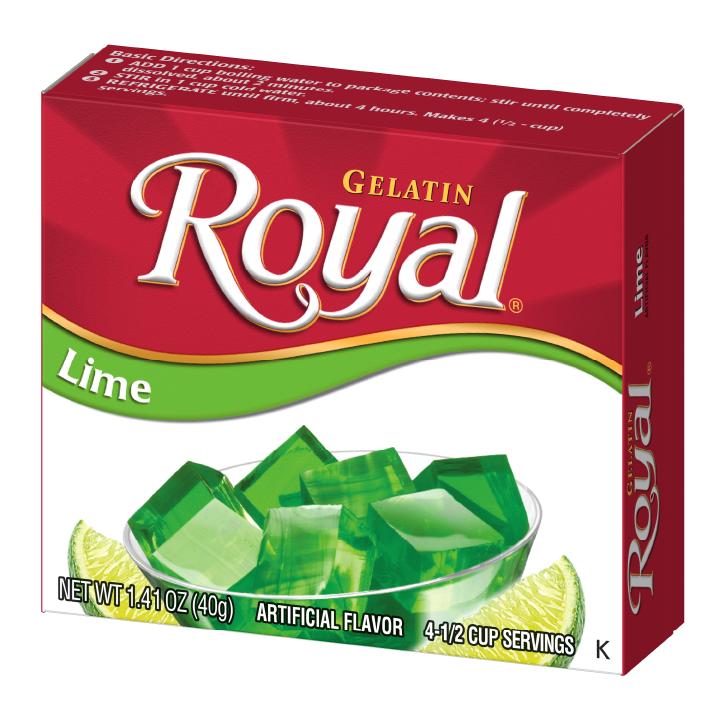 Royal Gelatin – Lime 1.4 oz