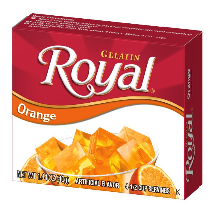 Royal Gelatin – Orange 1.4 oz