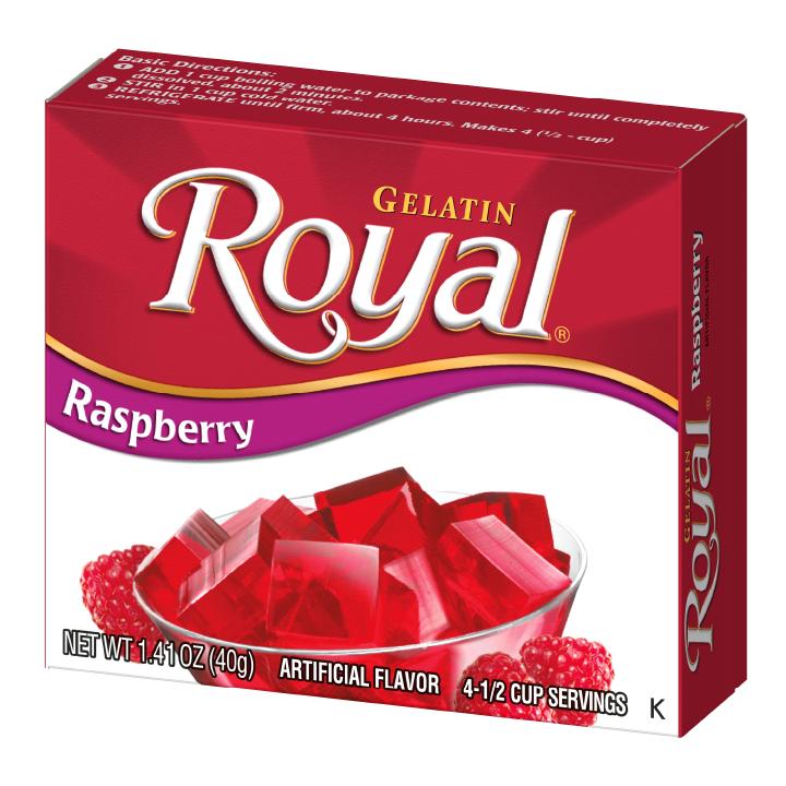 Royal Gelatin – Raspberry 1.4 oz