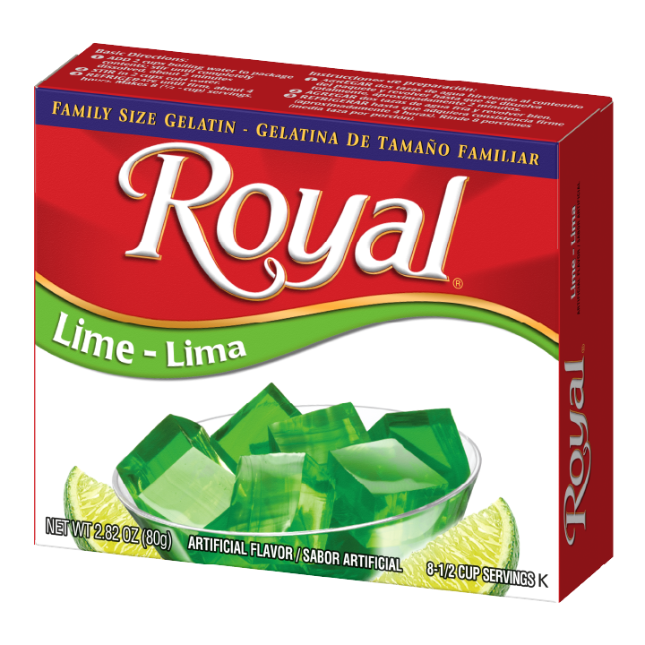 Royal Gelatin – Lime 2.8 oz