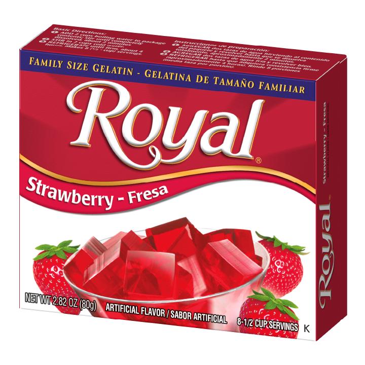 Royal Gelatin – Strawberry 2.8 oz