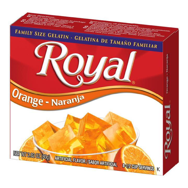 Royal Gelatin – Orange 2.8 oz