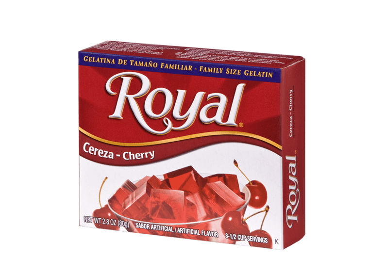 Royal Gelatin – Cherry 2.8 oz