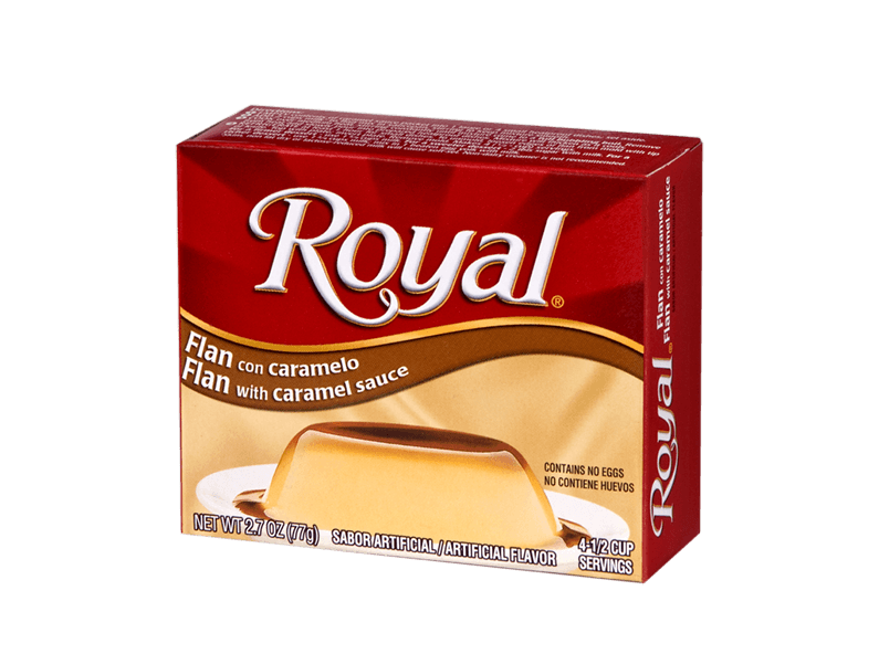Royal Flan 2.7 oz