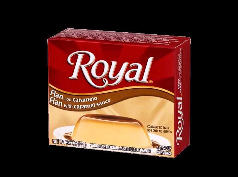 Royal Flan 2.7 oz