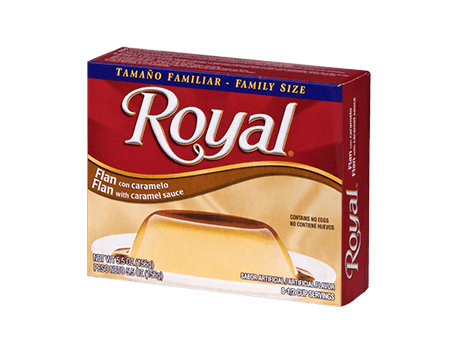Royal Flan 5.5 oz