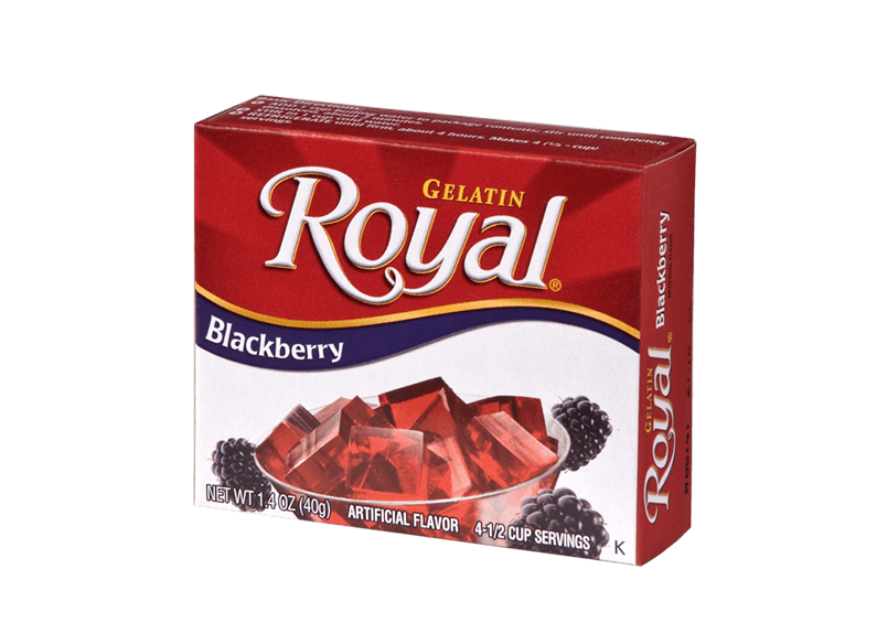 Royal Gelatin – Blackberry 1.4 oz