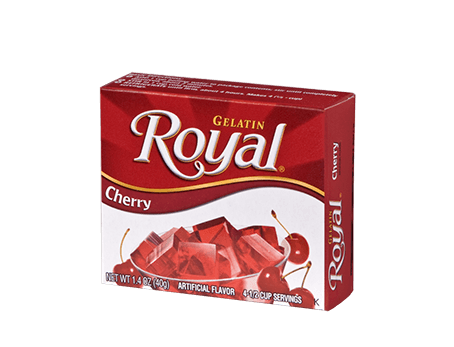 Royal Gelatin – Cherry 1.4 oz