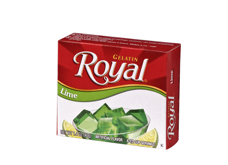 Royal Gelatin – Lime 1.4 oz