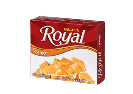 Royal Gelatin – Orange 1.4 oz