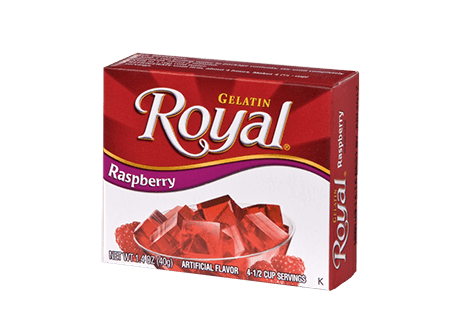 Royal Gelatin – Raspberry 1.4 oz