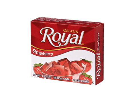 Royal Gelatin – Strawberry 1.4 oz