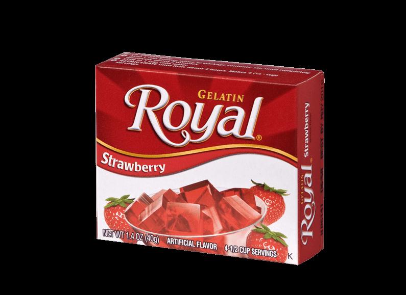 Royal Gelatin – Strawberry 1.4 oz