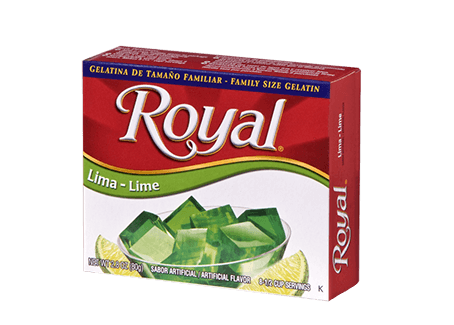 Royal Gelatin – Lime 2.8 oz