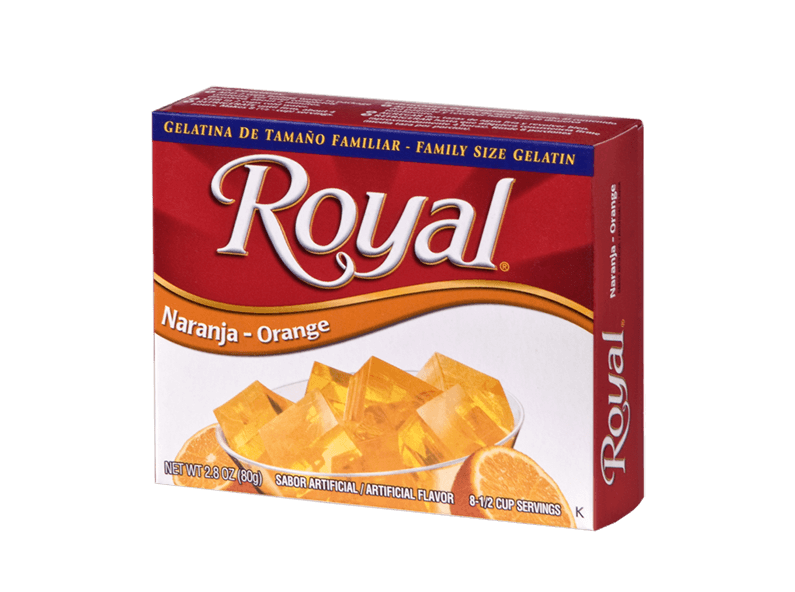 Royal Gelatin – Orange 2.8 oz