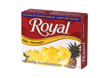 Royal Gelatin – Pineapple 2.8 oz