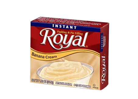 Royal Pudding – Instant Banana Cream 1.85 oz