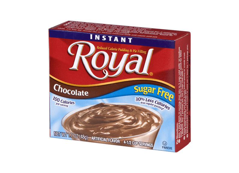 Royal Pudding – Chocolate Sugar Free 1.7 oz