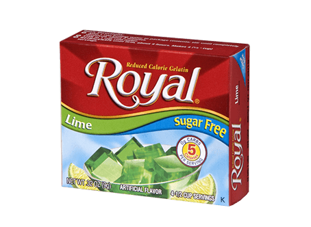 Royal Gelatin – Lime Sugar Free 0.32 oz