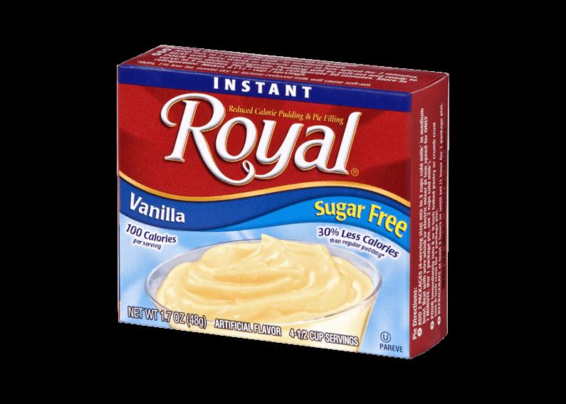 Royal Pudding – Vanilla Sugar Free 1.7 oz