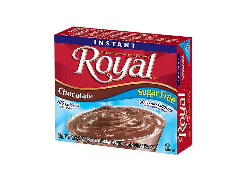 Royal Pudding – Chocolate Sugar Free 1.69 oz