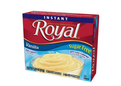Royal Pudding – Vanilla Sugar Free 1.69 oz