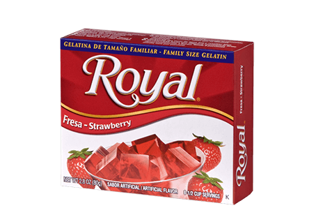 Royal Gelatin – Strawberry 2.8 oz