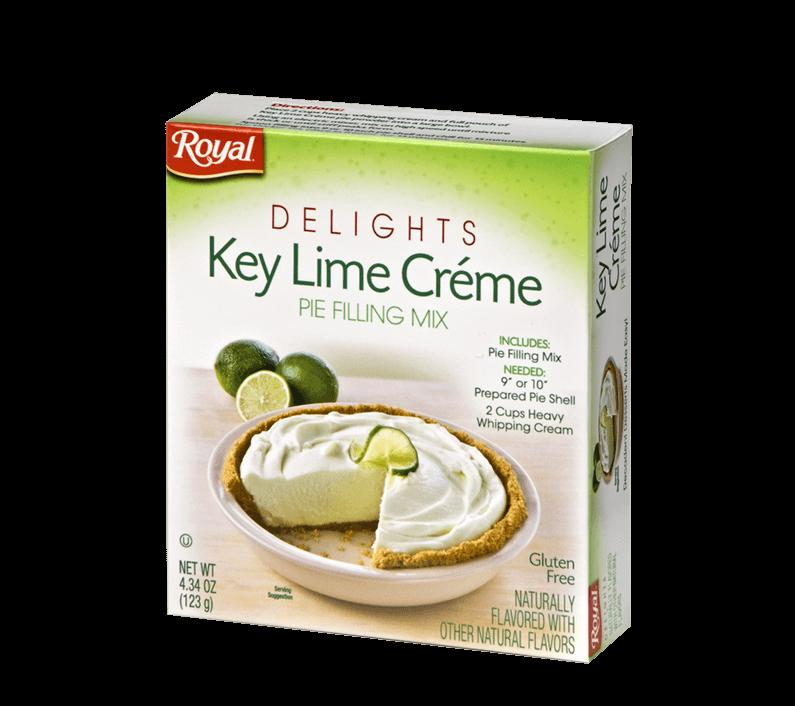 Royal Delights – Key Lime Crème Pie Filling 4.34 oz
