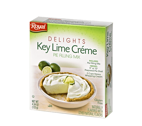 Royal Delights – Key Lime Crème Pie Filling 4.34 oz