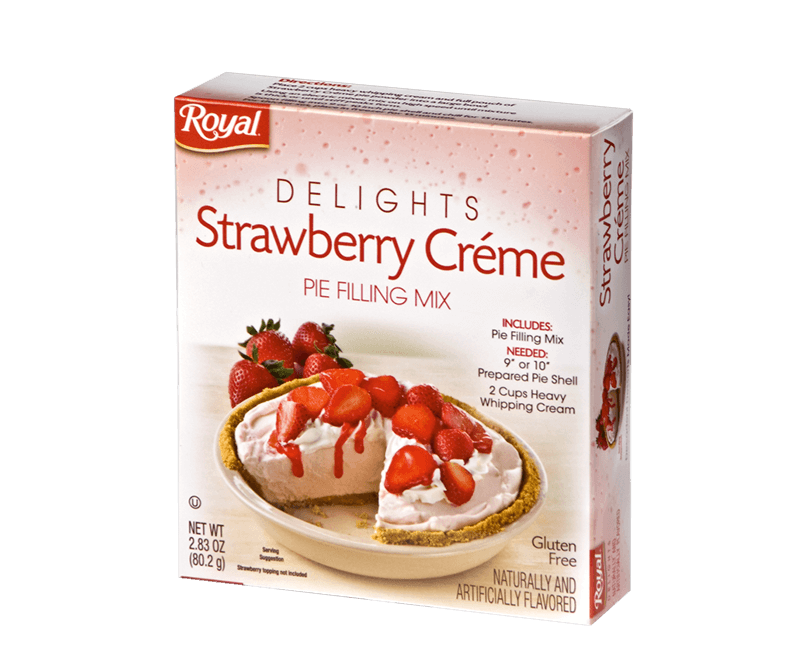 Royal Delights – Strawberry Crème Pie Filling 2.83 oz