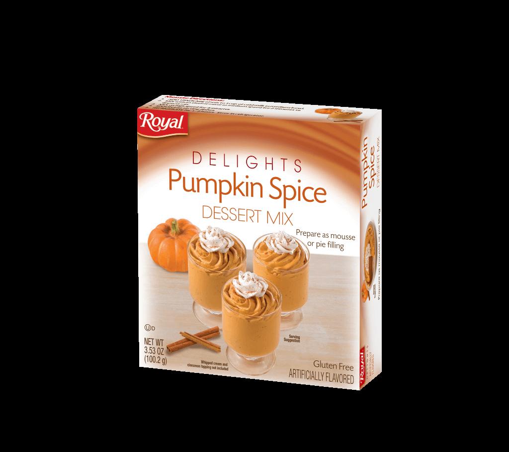 Royal Delights – Pumpkin Spice Dessert Mix 3.53 oz