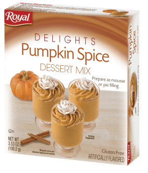 Royal Delights – Pumpkin Spice Dessert Mix 3.53 oz