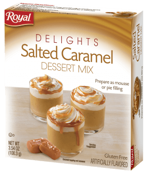Royal Delights – Salted Caramel Dessert Mix 3.54 oz