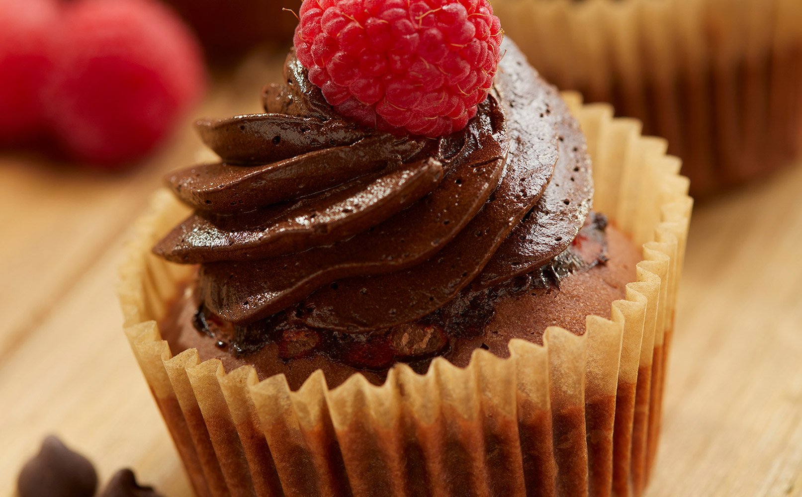 Easy Cupcakes with Chocolate French Silk