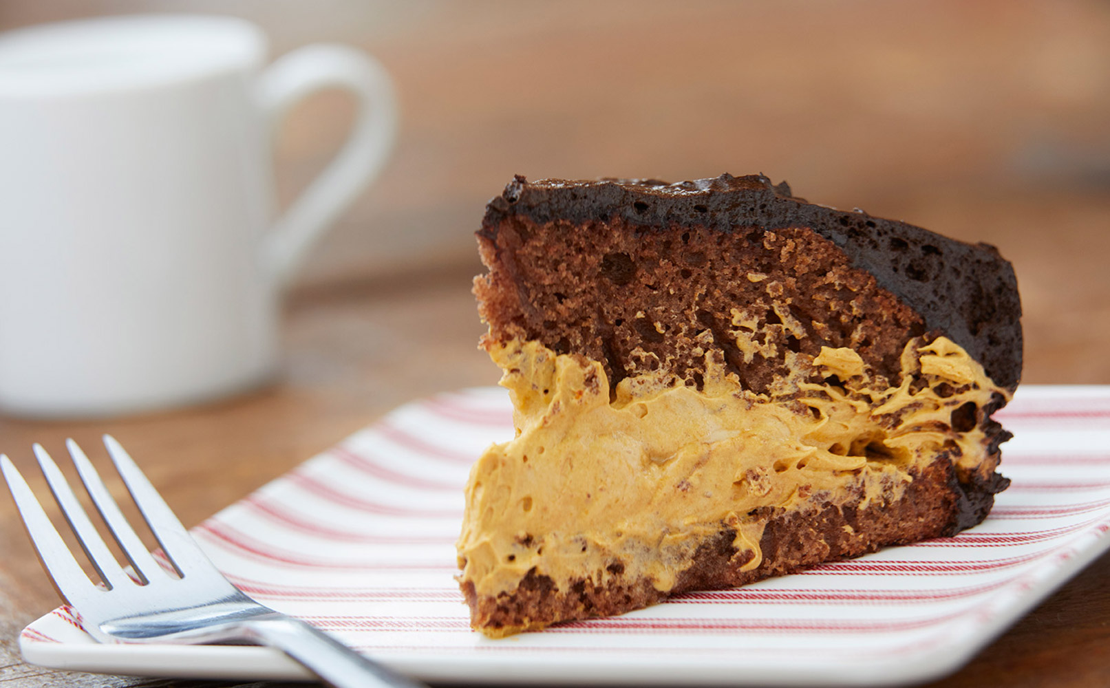 Salted Caramel and Dark Chocolate Patriotic Cake