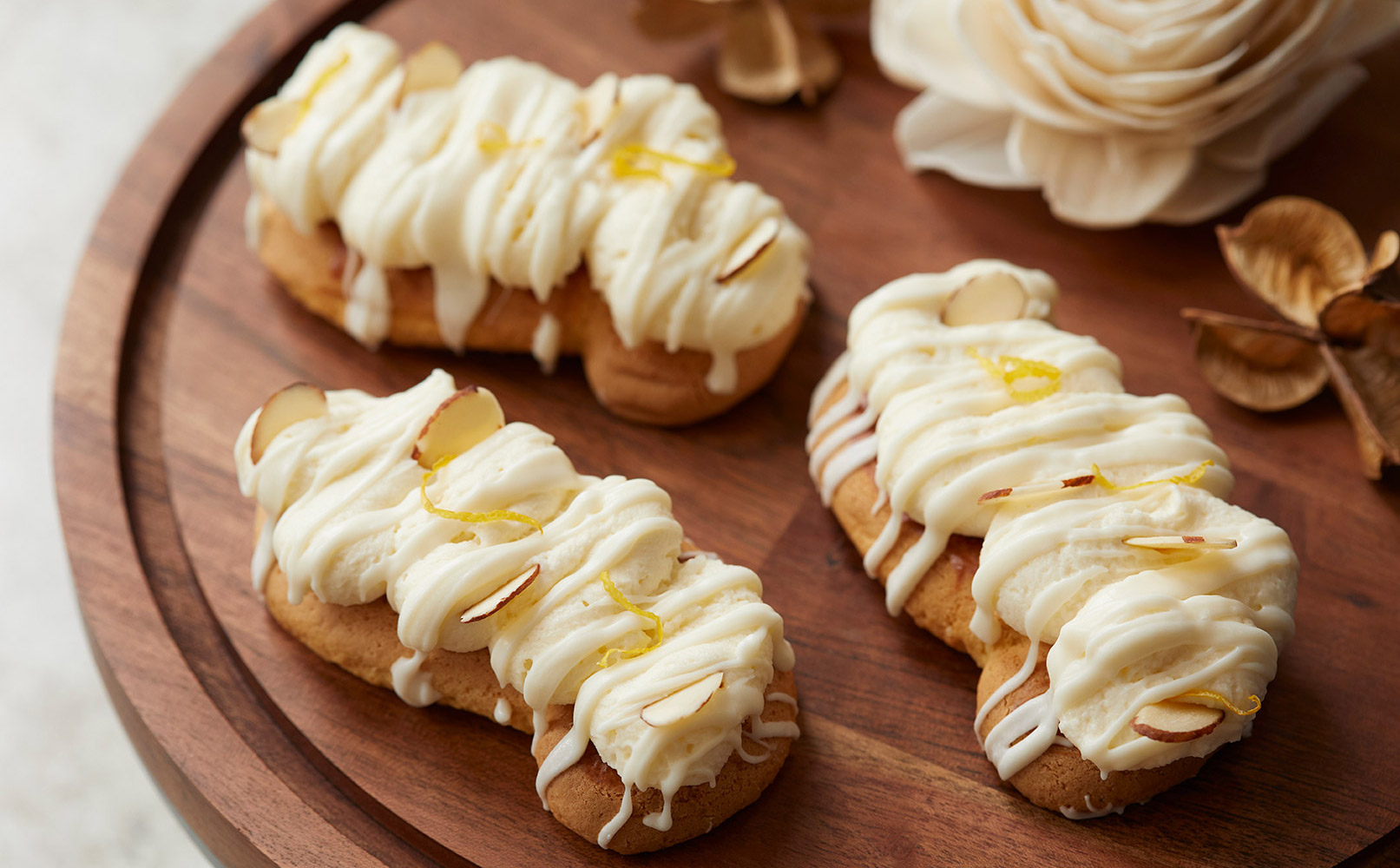 Lemon Crème French Pastry