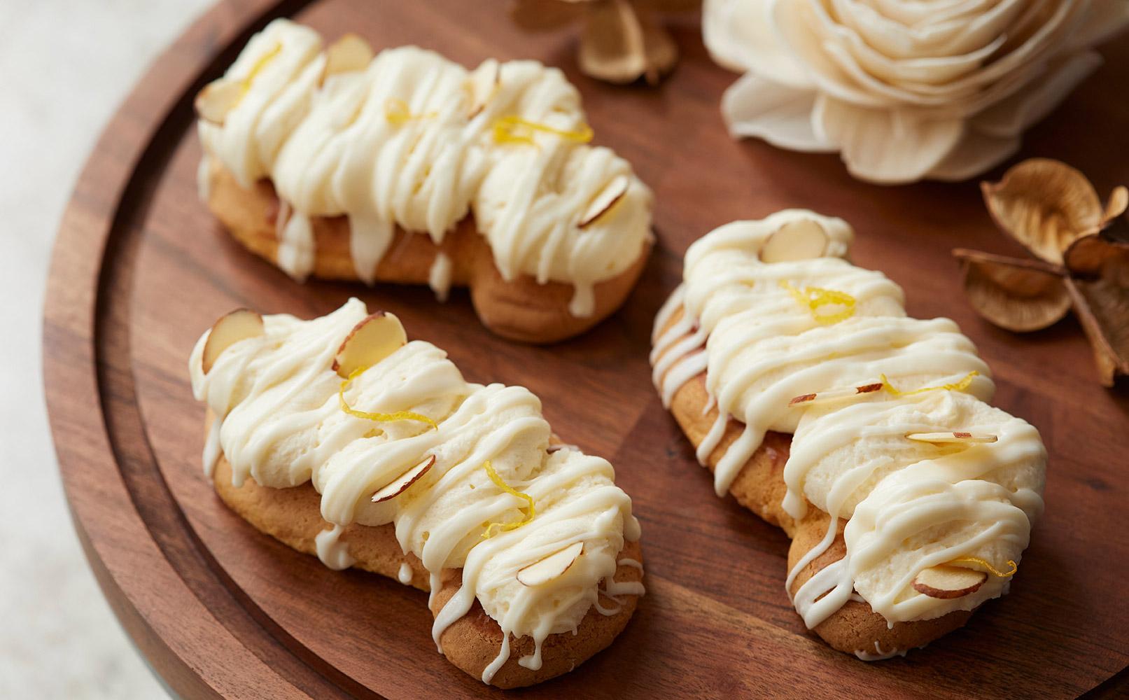 Lemon Crème French Pastry