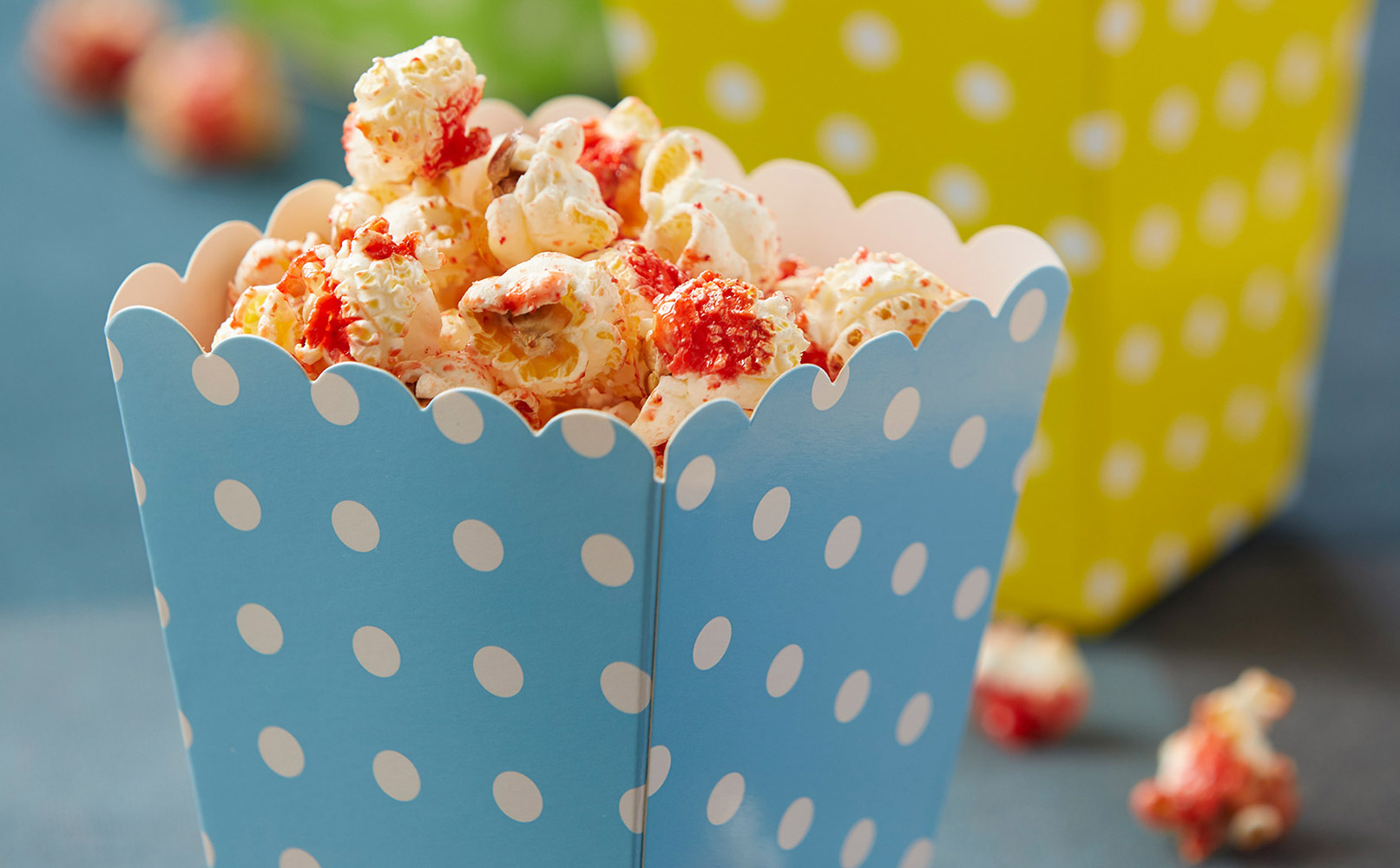 Cherry Glazed Popcorn