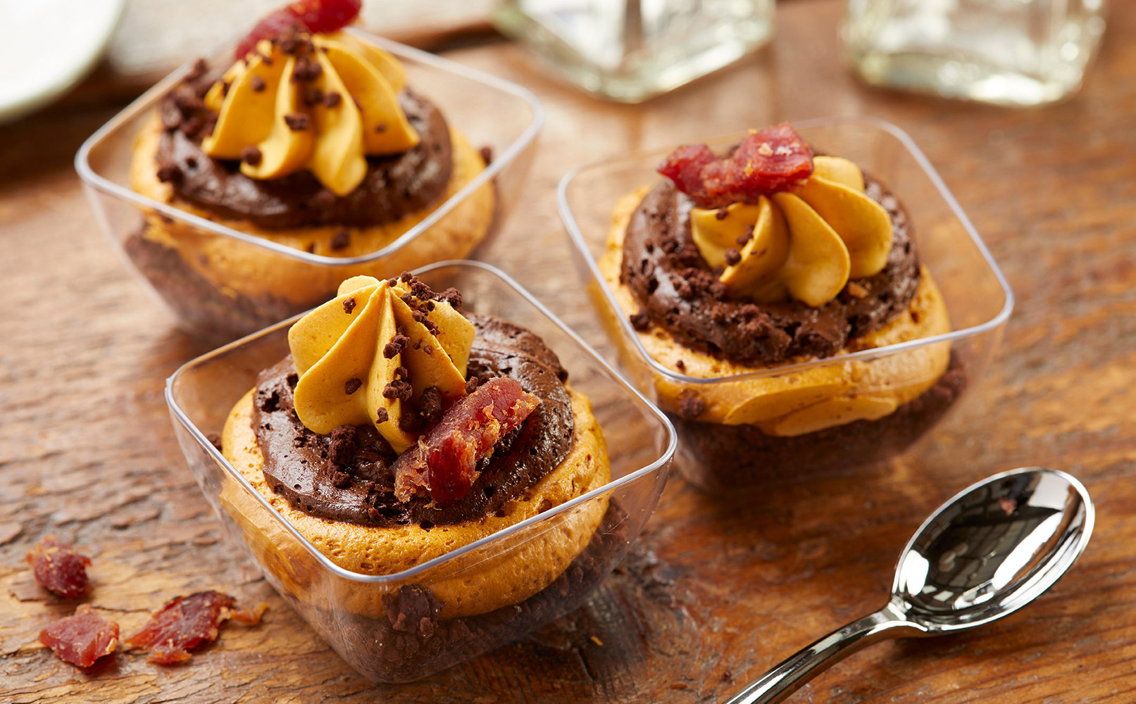 Salted Caramel Trifle with Bacon